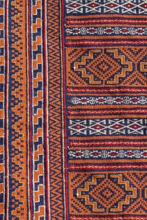 Colorful traditional turkish rug