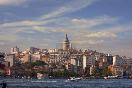 Beyoglu district historic architecture