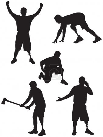 Amputee Silhouettes 2