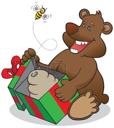 Surprised Christmas Bear