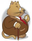 Arrogant fat cat