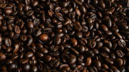 Dark Coffee Grains for Background