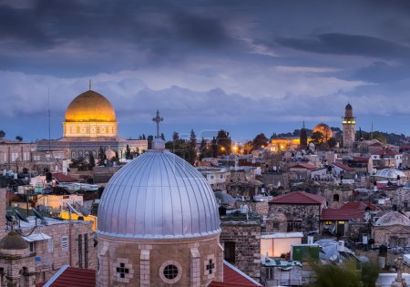 Beautiful architecture of Jerusalem