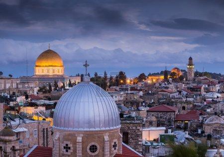 Beautiful architecture of Jerusalem