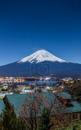 Mountain Fuji and Lake Kawaguchi