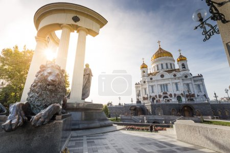 Cathedral of Christ Saviour. Moscow