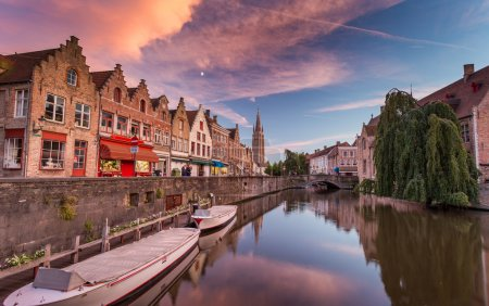 Bruges city in Belgium