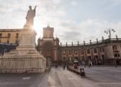 Piazza Dante in Napels, Italy