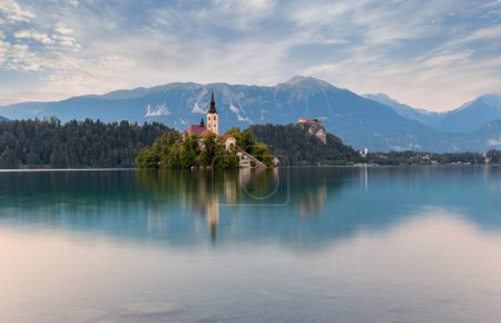 Church on Bled Lake