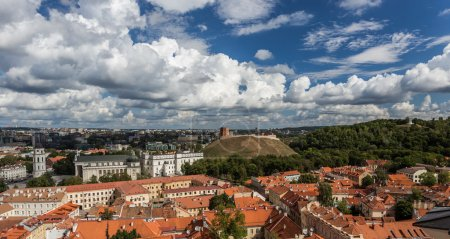 Vilnius Panoramic view,  Lithuania