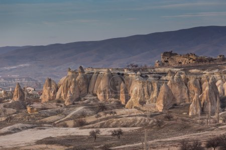wonderful landscape of Cappadocia in