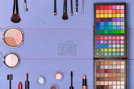 Decorative cosmetics and accessories for makeup