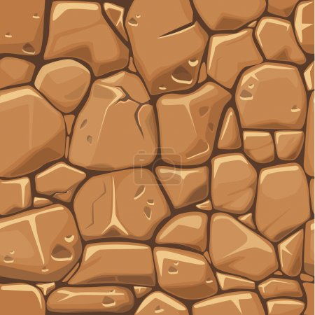 Photo for Stone texture in brown colors seamless background, jpg copy - Royalty Free Image