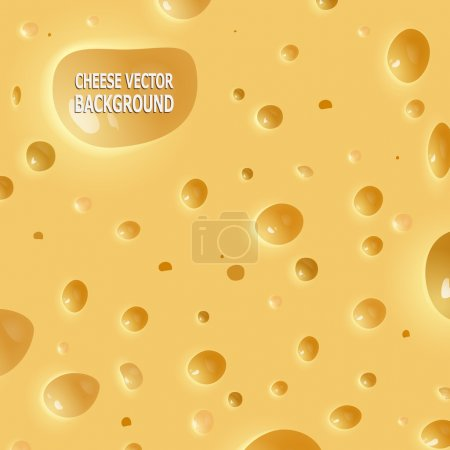 Illustration for Vector cheese backgrounds. Piece of cheese. Slice of cheese. - Royalty Free Image