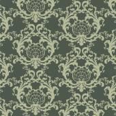Vektorové květinový ornament damaškové barokní vzor prvek