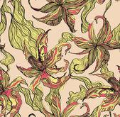 tiger lily pattern