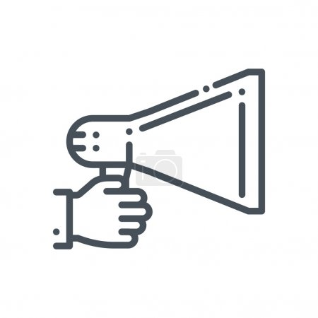 Promotion, megaphone icon