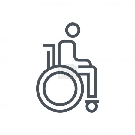 Wheelchair  theme icon