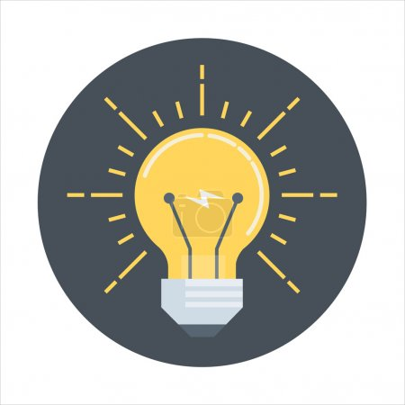 Business Ideas flat style, colorful, vector icon