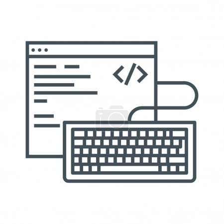 Coding theme icon