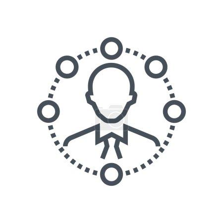 Self organisation icon