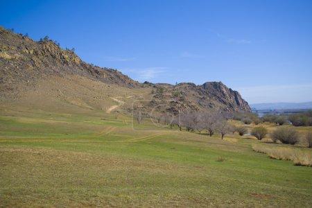 Beautiful nature of Buryatia in the summer.