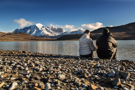 couple in National Park