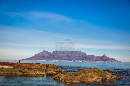 Beautiful view of Table Mountain