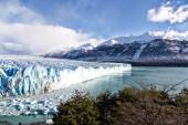 Blue ice in Perito Moreno Glacier