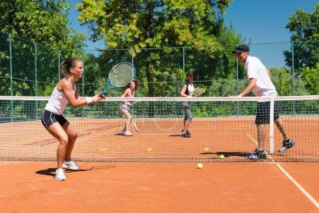 Cardio tennis training