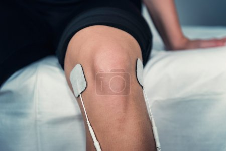 TENS treatment in physical therapy