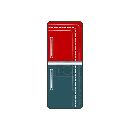 Refrigerator Closed illustration