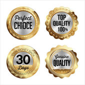 Gold and Silver Badges  Perfect Choice Top Quality 100% 30 Days Money Back Genuine Quality