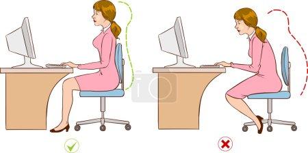 ergonomic seating patterns