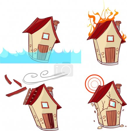 Vector illustration of a Natural Disasters