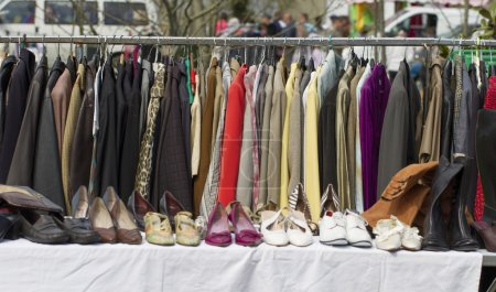 clearance sale on woman's clothes and shoes collection