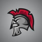 Spartan helmet Sport mascot