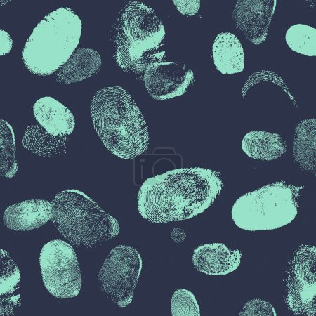 Seamless pattern with finger print.