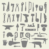 Construction tools collection Doodles