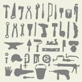 Stavební nástroje kolekce