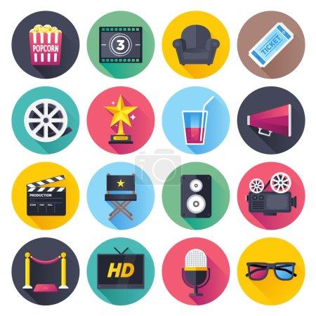 Movie & Theatre Icon Set