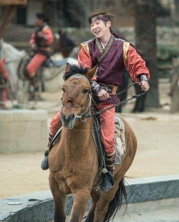 Participant a the Equestrian Feats