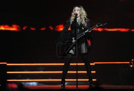 Famous pop singer Madonna