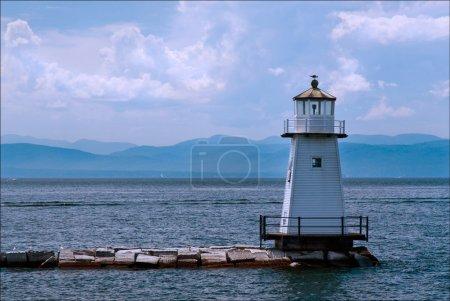 Burlington Breakwater North lighthouse is a favori...