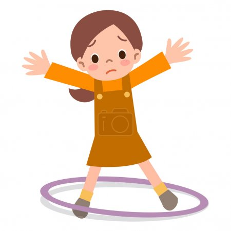 Girls can not hula hoop