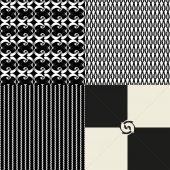 Seamless black and white se