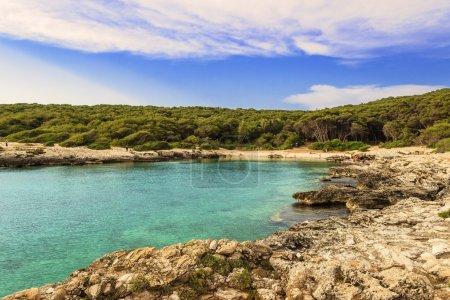 Summer sescape. Salento coast: Bay Porto Selvaggio. (Lecce.) - ITALY (APULIA) -