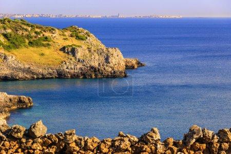 SUMMER SEASCAPE. Salento coast:Bay Uluzzo (Lecce).ITALY (Apulia).
