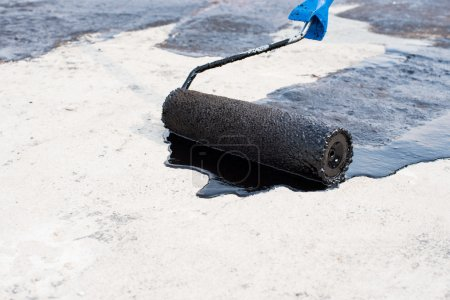 roller brush, waterproofing
