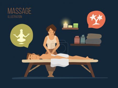 Spa massage spa massage
